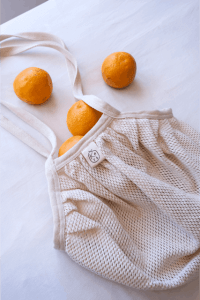 Kare Bags are made from 100% unbleached cotton yarn.