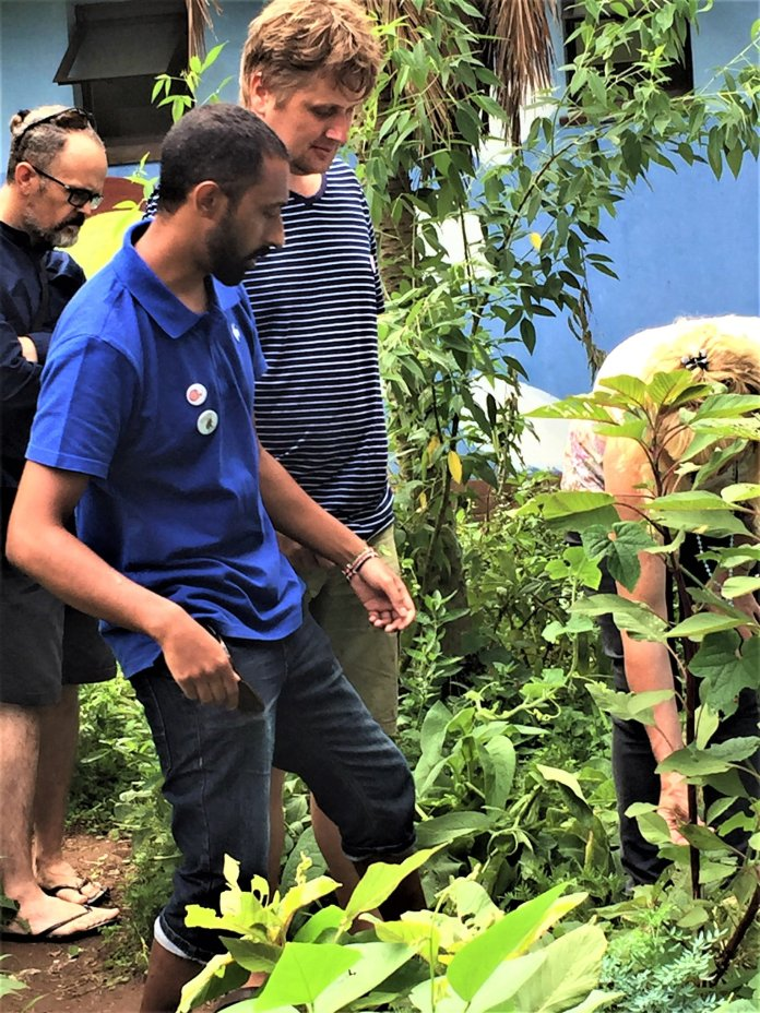 A professional eco-warrior Pillay hosts a series of informative sessions on permaculture at the Sutton Park Pool.