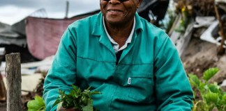 Visually impaired, Vuyo Tsika (72) is a backyard farmer spreading hope in his township community of Delft in the Western Cape where he cultivates vegetables.