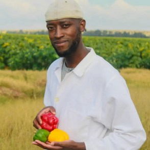 "Thapelo Phiri is one of earths ""groundkeepers"". As an organic fertiliser specialists, he helps crop farmers get the most out of the land they farm on."