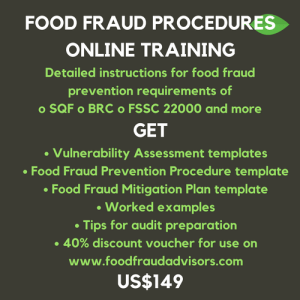 sqf edition 8 food fraud