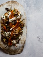 THE FOOD GAYS - Roasted Root Vegetable and Farro Salad