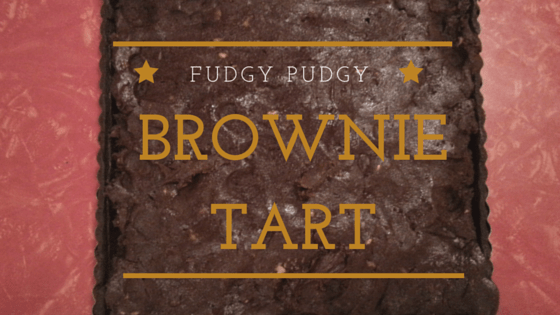 Fudgy Pudgy Brownie Tart