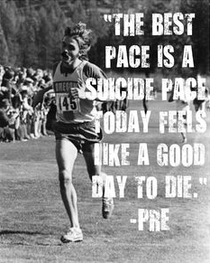 The Best Pace is a Suicide Pace