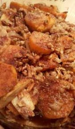 Apple Sweet Potato Casserole