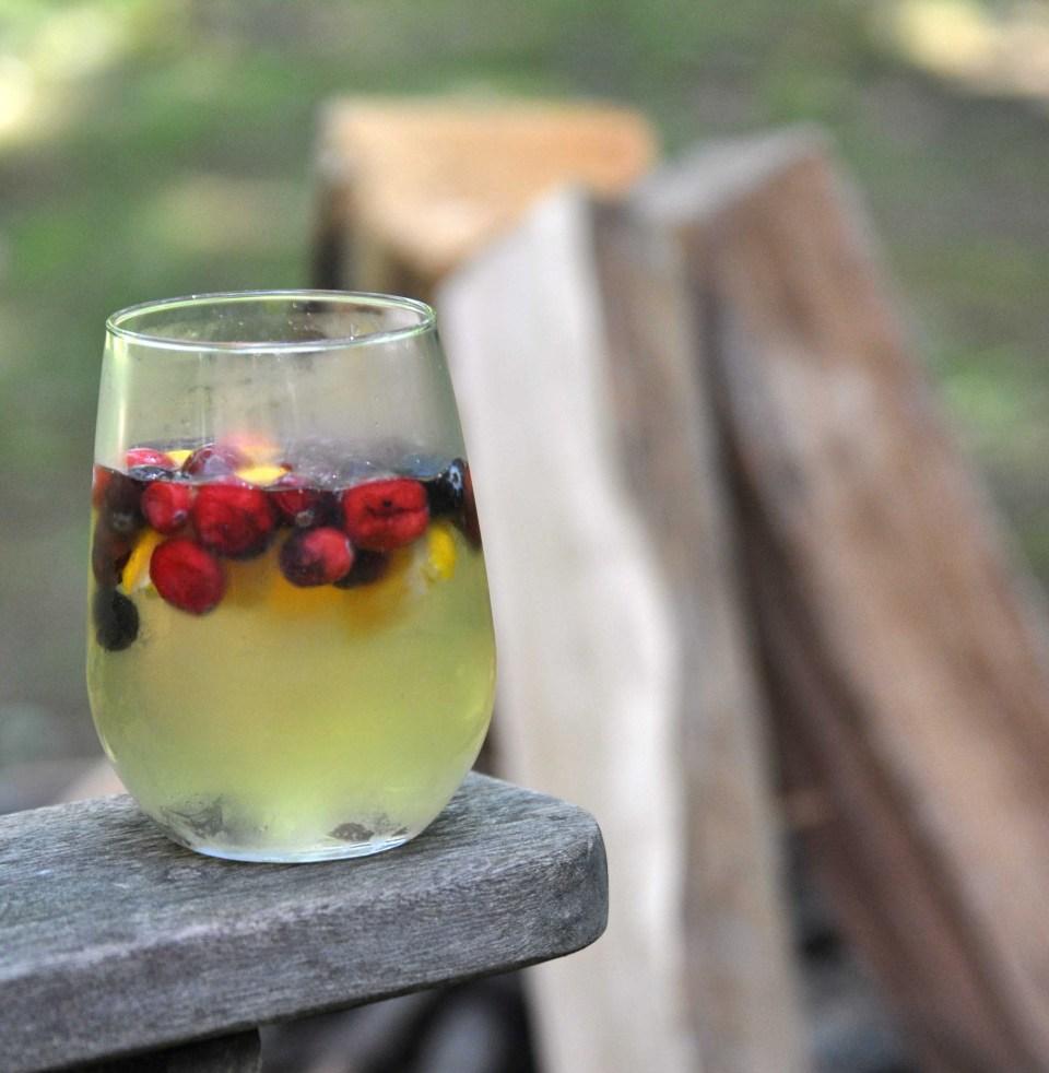 Summer Sangria - Fresh from the garden