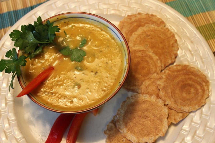2.11 Pumpkin Soup Cajun Style