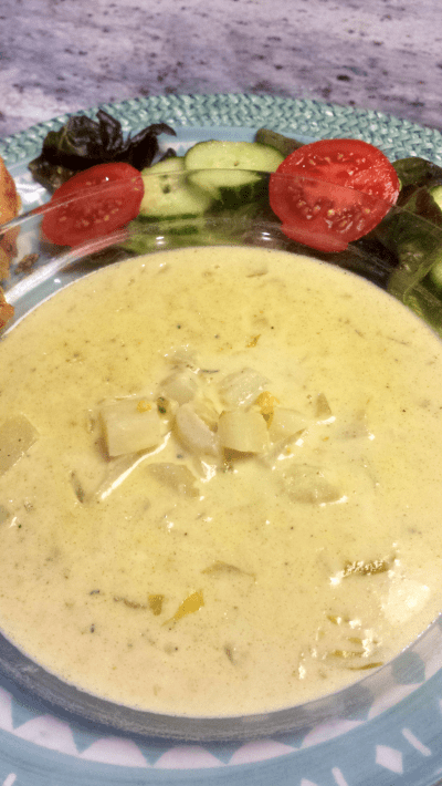 3.2 New England Clam Chowder