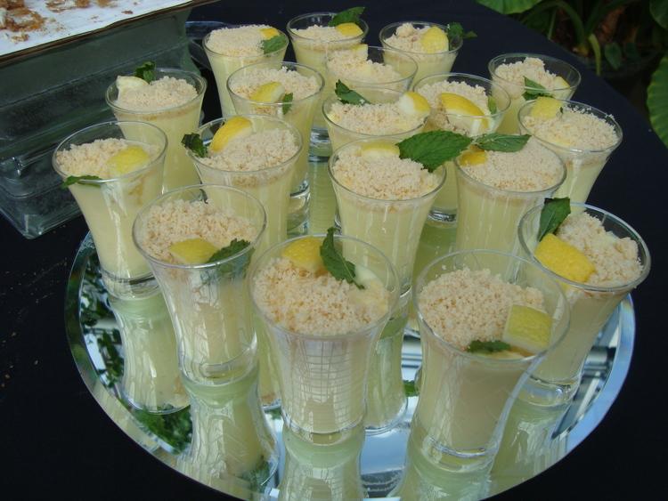 521 Lemon Mousse Cups
