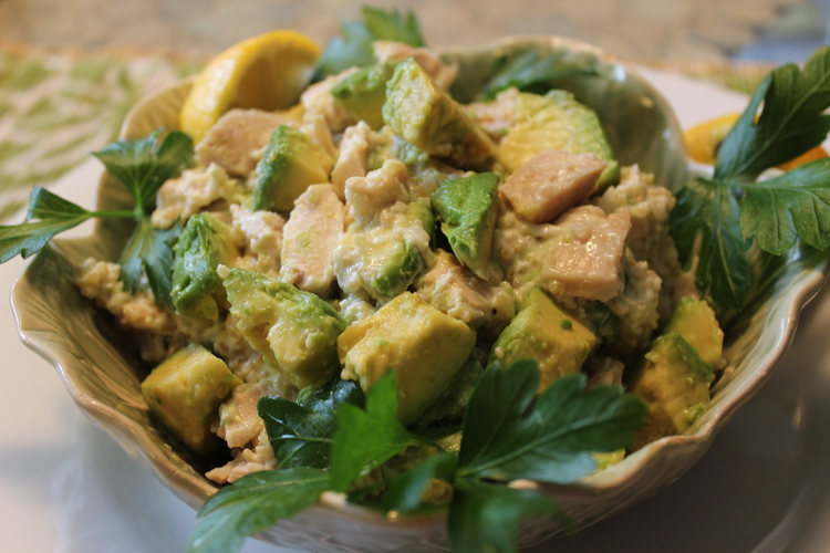64 Avocado Chicken Salad Lighter Version