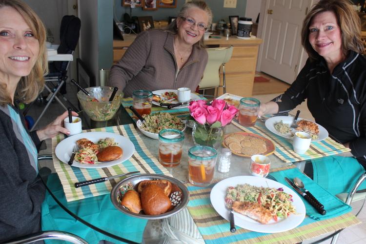 77 Light Lunch with Girlfriends - Teriyaki Salmon Recipe