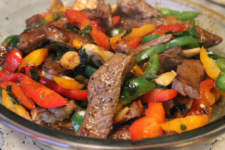 791 Asian Steak and Peppers