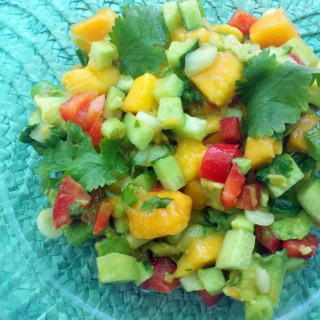 Best Mango Avocado Salsa