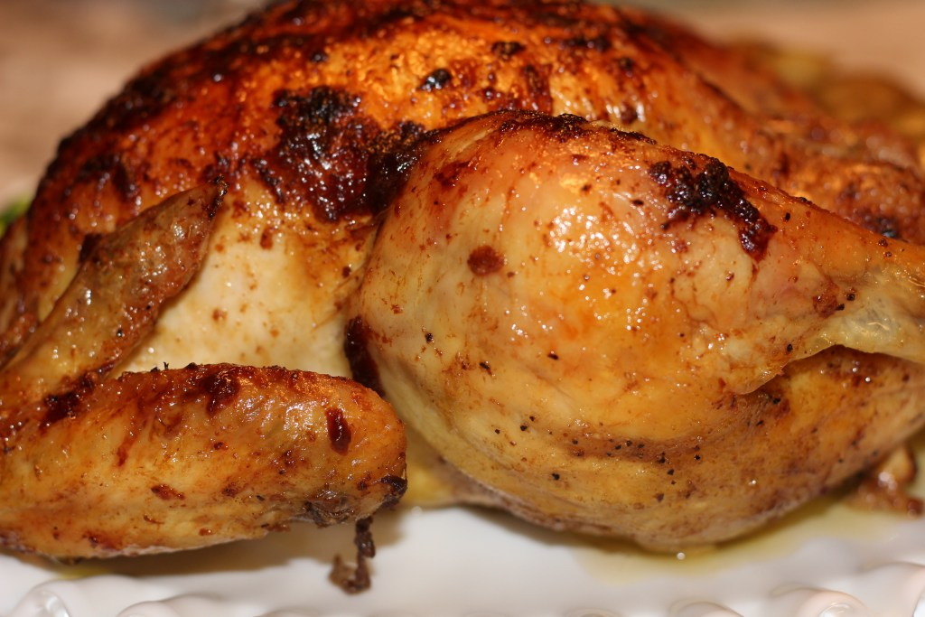 Chicken with Lemon, Garlic and Ginger