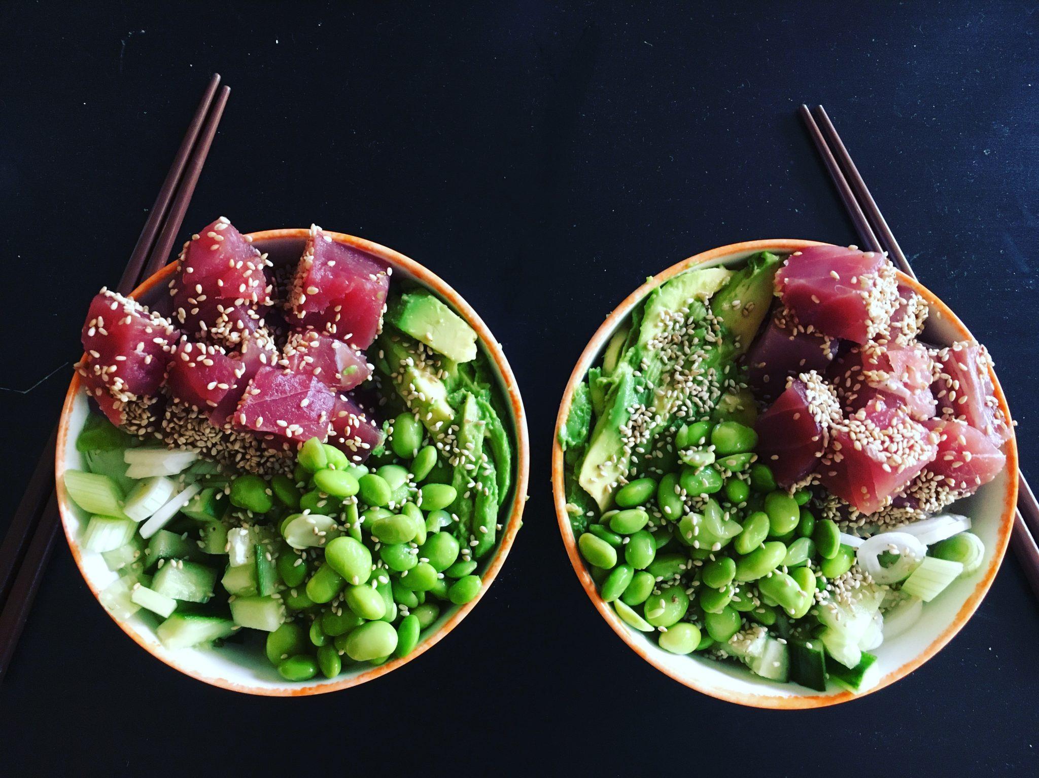 poke bowl sushi