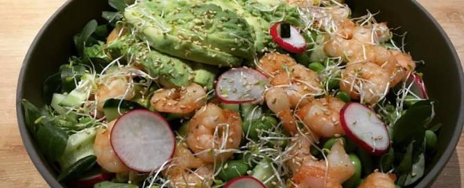 garnalen salade