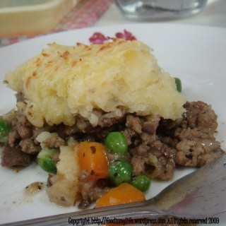 A Not So Ordinary Pie – Cottage Pie