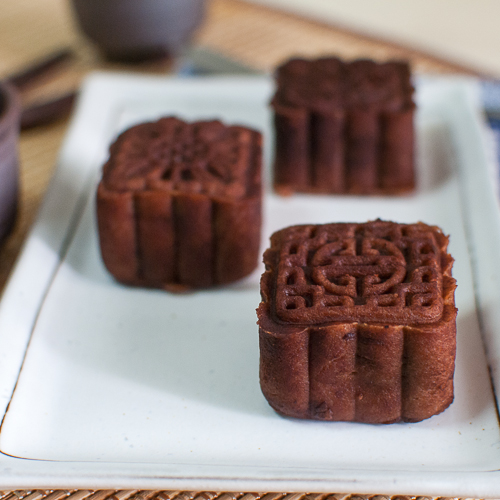Baileys Chocolate Snow Skin Mooncakes