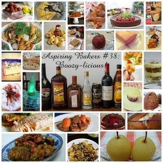 Roundup – Aspiring Bakers #38: Boozy-licious!