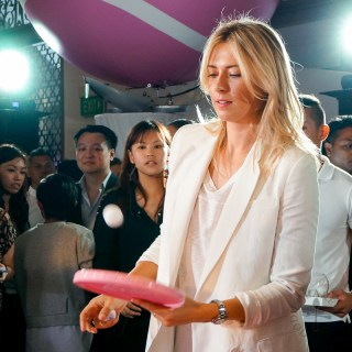 Evening with Maria Sharapova