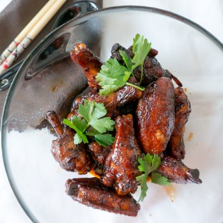 30-Minutes Braised Soy Sauce Chicken Wings