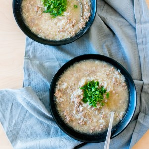 Mom's Pork Porridge