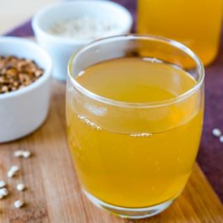 Roasted Barley Tea [Mugicha (麦茶) / Boricha (보리차)] & Simple Barley Salad
