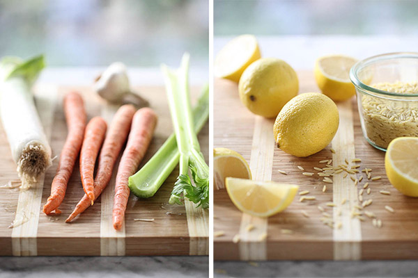 Lemon Chicken Stew ingredients