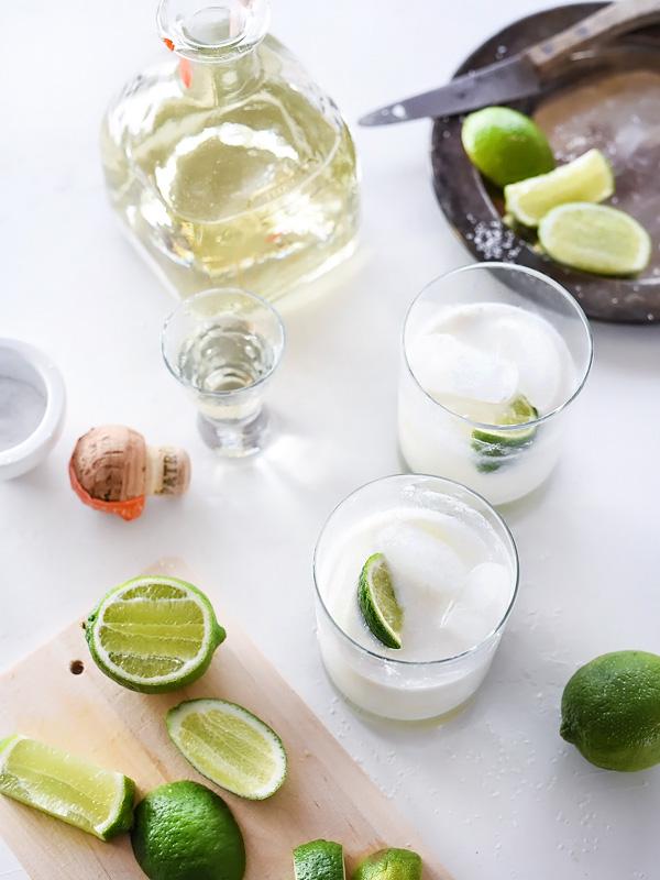 The Best Coconut Margarita | foodiecrush.com