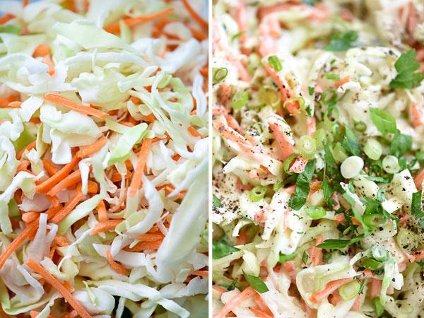 Как сделать лучший сливочный капустный салат foodiecrush.com