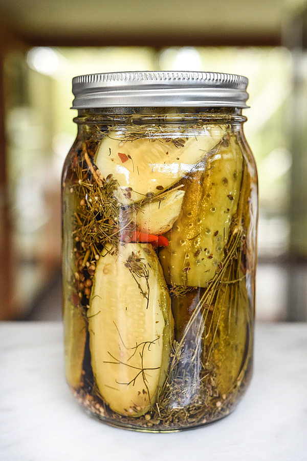 Spicy Garlic Dill Pickle