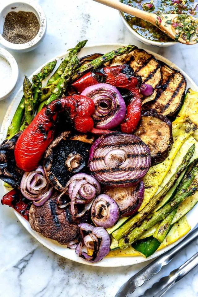 Best Easy Grilled Vegetables | foodiecrush.com
