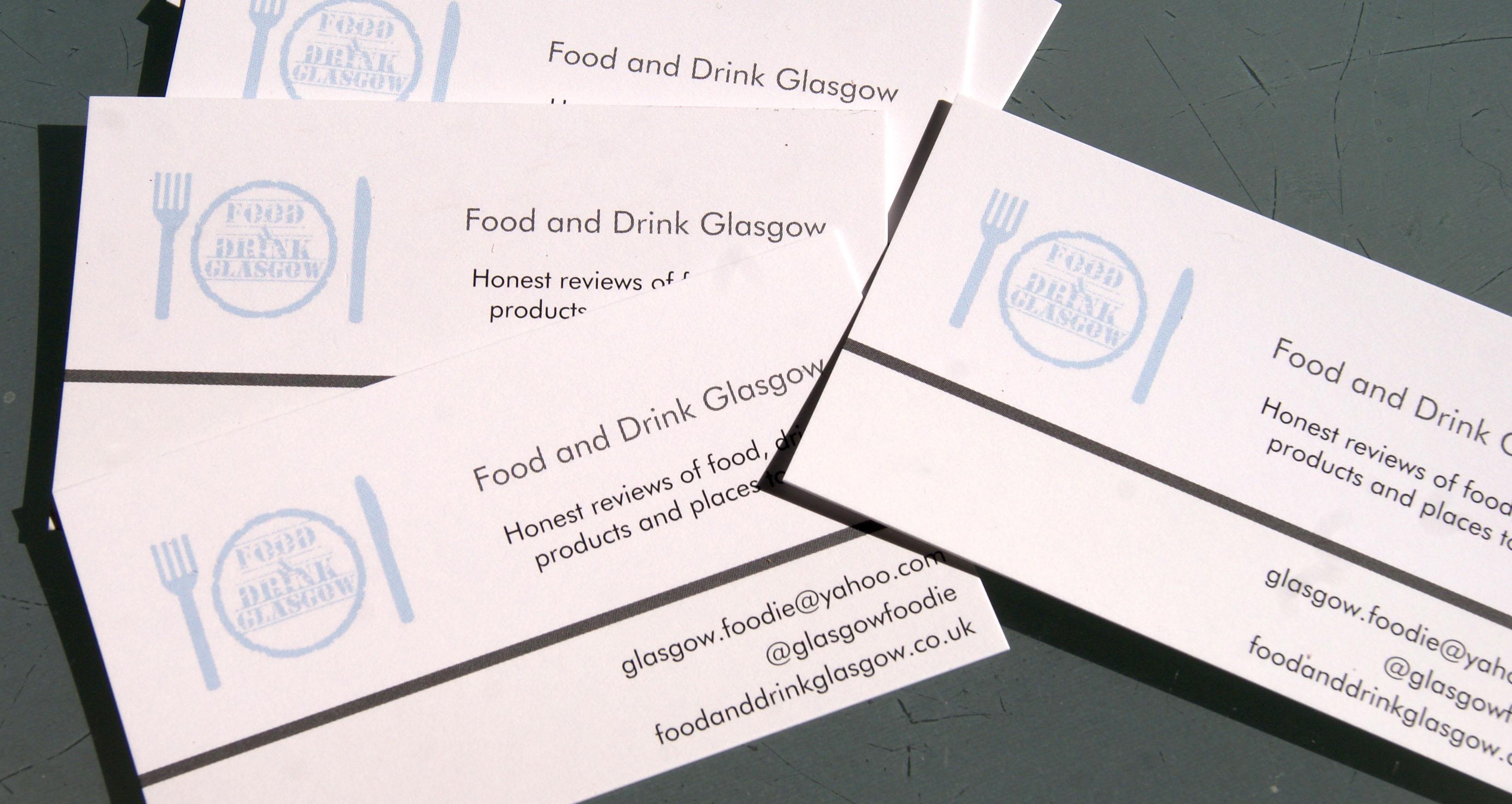 Business cards foodie explorers for Vistaprint com free business cards
