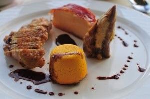 Gourmet dinner at Loch Melfort Hotel