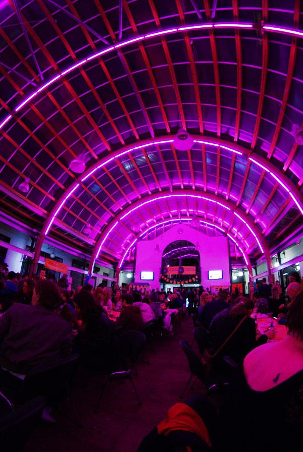 Baad venue interior for Street Festival