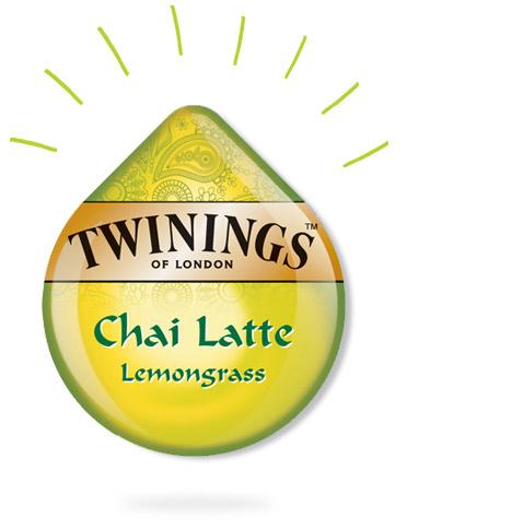 Tassimo - Twinings lemongrass chai latte