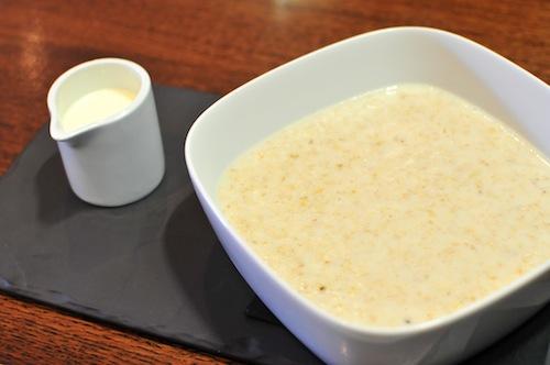 Sun Inn porridge