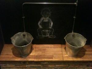 gents toilet's - Oor wullie urinals