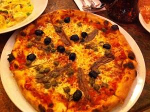 So glasgow pizza Napolitana