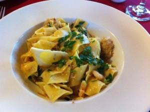 Pasta at Mira  Mara, Helensburgh. © food and drink Glasgow blog