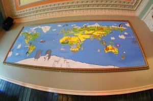 Safari_lounge_edinburgh_world_map_mural