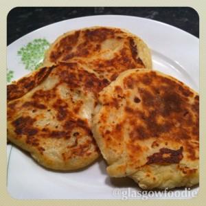 Tattie scone potato scone food and drink Glasgow blog