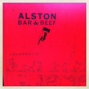 Alston Bar & Beef Glasgow Central railway train station gin steak beer food blog foodie bloggers