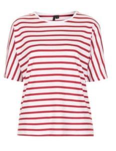 Seamless stripe tee tshirt topshop top shop food drink Glasgow blog