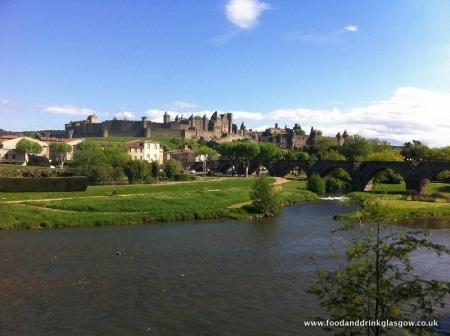 Carcassonne France travel holiday vacation ryanair food drink Glasgow blog travel