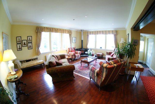 The Old School B&B -  living room