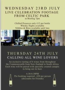 Corinthian events Glasgow