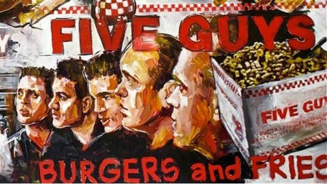 Five guys food and drink glasgow food blog
