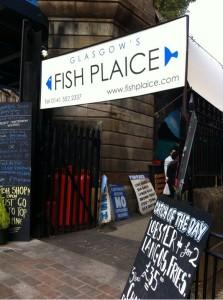 Fish plaice glasgow