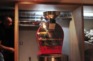 Gordon Street Coffee Diedrich roaster